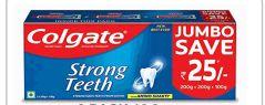 24 Bulk Colgate Toothpaste 500 Grams 16.9oz Strong Teeth 3 Pack
