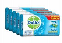27 Bulk Dettol Soap 105g 5 Pack Cool