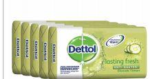 27 Bulk Dettol Soap 105g 5 Pack Lasting Fresh