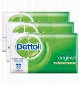 48 Bulk Dettol Soap 3 Pack 65g Original