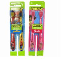 72 Bulk Firefly Toothbrush Babie And Spider 2 Pack