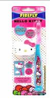 72 Bulk Firefly Toothbrush Hello Kitty Travel Kit With Cap