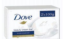 24 Bulk Dove Soap 100g 2 Pack White