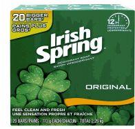 4 Bulk Irish Spring Bar Soap 4oz 20 Pack Original