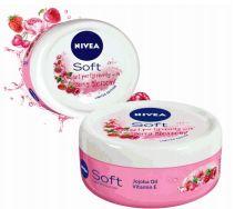 24 Bulk Nivea Cream Soft 200ml Berry Blossom