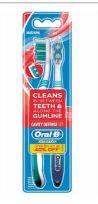 60 Bulk Oral B Toothbrush 2 Pack Cavity Defense Medium