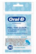 48 Bulk Oral B Floss Pick 30 Count Icy Cool Mint