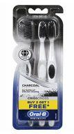 48 Bulk Oral B Toothbrush 3 Pack Criss Cross Charcoal Sensitive