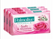 48 Bulk Palmolive Bar Soap 80g 3 Pack Soft And Moisture Pink