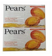 64 Bulk Pears Bar Soap 3.5oz Pure And Gentle 2 Pack