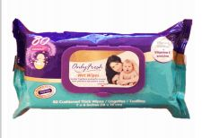 48 Bulk Only Fresh Wipes 80 Count With Lid Original