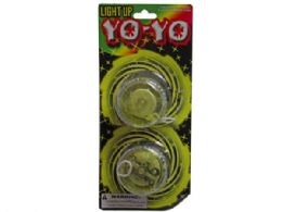 36 Bulk 2pc Light Up Yo-yo