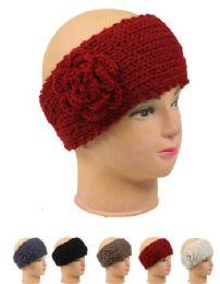 72 Bulk Knitted Women Woolen Headband