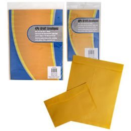 36 Bulk Envelopes Kraft Paper 4lg Or 8pc Small 10x13/5.75x9.5in pb