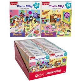 24 Bulk Puzzle 24pc Highlights Thats Silly 2 Titles In Pdq