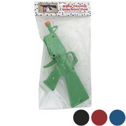72 Bulk Silly String Machine Gun Asst Colors Poly Bag/peggable