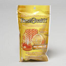 12 Bulk Cough Drops Honey Lemon 30 Cnt Bag New# 45521 Resealable