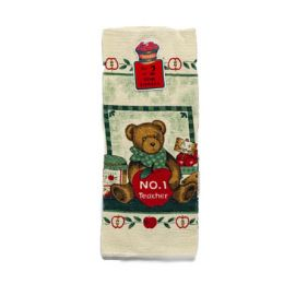 144 Bulk Dish Towel S/2 No.1 Teacher