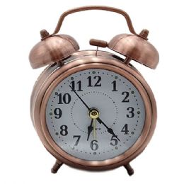 12 Bulk Alarm Clock With Stereoscopic Dial Battery Operated Loud Alarm Clock