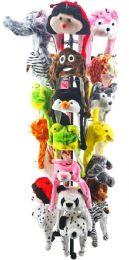 Bulk Animal Hat Set 25 Piece With Metal Display