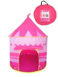 12 Bulk Kids Pink Tent