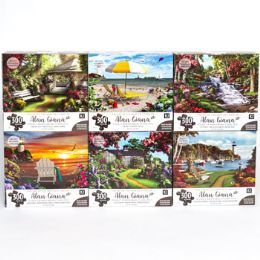 6 Bulk Puzzle 300pc Alan Giana 6 Titles Size 24x18