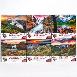 6 Bulk Puzzle 550pc Postcard Collection 6 Titles Size 24x18