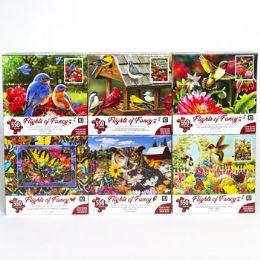 6 Bulk Puzzle 550pc Flights Of Fancy 6 Titles Size 24x18