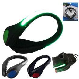 72 Bulk Shoe Safety LED Light Mixed Color