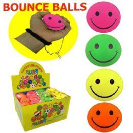144 Bulk Bounce Balls Emoji