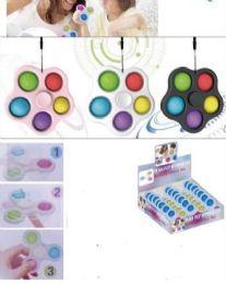 24 Bulk Push Pop Spinner Fidget Toy Pentagon