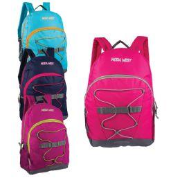 """24 Bulk 17"""" Bungee Sport Backpacks"""