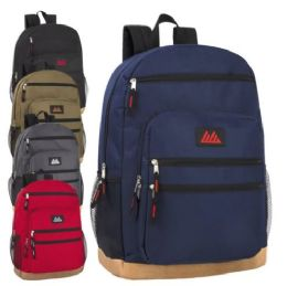24 Bulk 18 Inch Rugged Bottom Backpack with Laptop Section