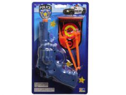 72 Bulk Blue Police Pistol Shooting Play Set