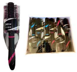 72 Bulk Hair Brush With Display Box