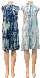 12 Bulk Indian Rayon Shirt Dress with Collar Assorted Colors