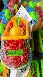 72 Bulk Medium Size Sand Toys Truck Set