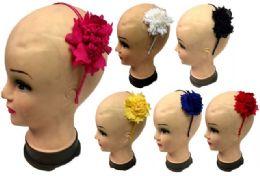 96 Bulk Flower Head Band