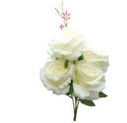 """24 Bulk White Rose 20"""""""