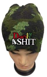 36 Bulk Don't Ask Me 4 Shit Camo Winter hat