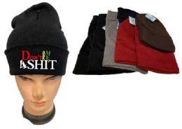 36 Bulk Don't Ask Me 4 Shit Mix Winter hat