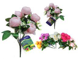96 Bulk Peony Flower Bouquet