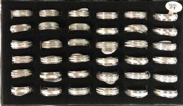 120 Bulk Stainless Steel Spinner Ring Assorted Sizes
