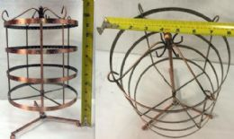 4 Bulk Rotating Jewelry Earring Display Stand Hold Rack