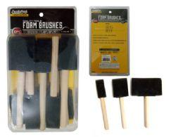 96 Bulk Foam Brushes