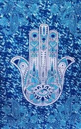 5 Bulk Hamas Paisley Turquoise