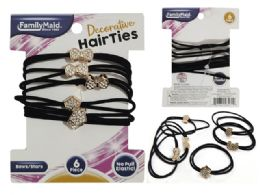 288 Bulk 6pc Hair Ties