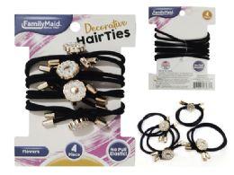 288 Bulk 4pc Hair Ties
