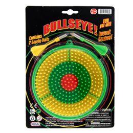 36 Bulk Mini Bullseye Dartboard - 3 Piece Set