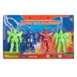 48 Bulk Battlebots - 4 Piece Set